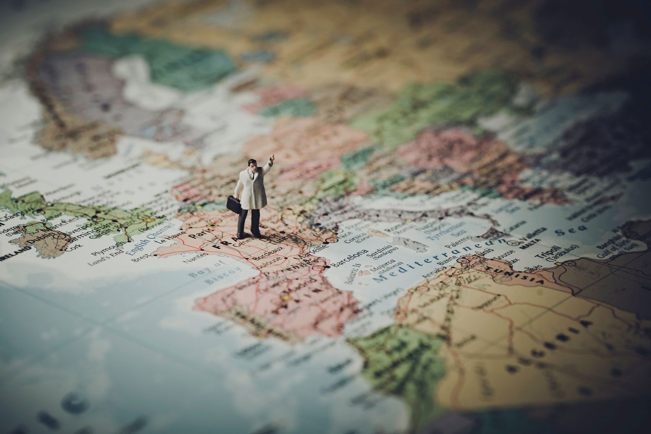 Internationaal verhuizen